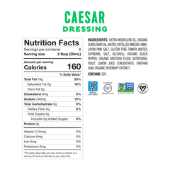 Fody Foods Low FODMAP Caesar Salad Dressing (240g)