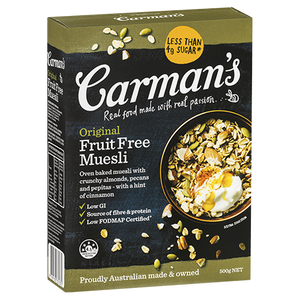 Carman's Original Fruit Free Muesli (500g)