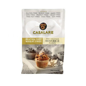 Casalare Pre-Cooked Brown Rice Flour (500g)