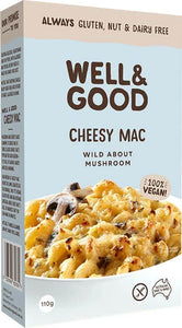Well & Good Cheesy Mac Wild About Mushroom (110g)