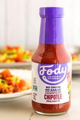 Fody Foods Low FODMAP Chipotle BBQ Sauce, Unsweetened (340g)
