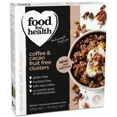 Food for Health Coffee & Cacao Fruit Free Clusters (425g)
