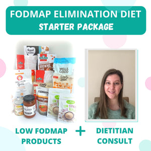 FodShop's Low FODMAP Elimination Diet Starter Package - INCLUDES x1 INITIAL DIETITIAN CONSULTATION (VIC)