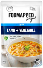 FODMAPPED Lamb & Vegetable Soup (500g)