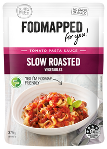FODMAPPED Slow Roasted Vegetable Tomato Pasta Sauce (375g)