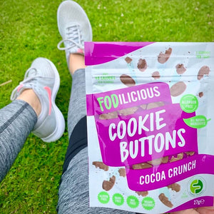 Fodilicious Cookie Buttons - Cocoa Crunch