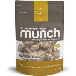 Thinkfood Munch Flax Sesame Sunflower (140g)