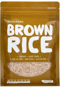Forbidden Organic Brown Rice (500g)