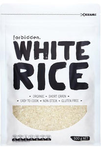 Forbidden Foods Organic White Rice (500g)