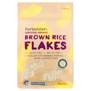 Forbidden Organic Gluten Free Brown Rice Flakes (300g)