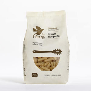 Freee by Doves Farm Gluten Free Organic Brown Rice Tortiglioni (500g)