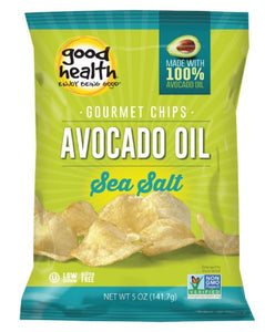Good Health Snacks Avocado Oil Potato Chips Sea Salt (142g)