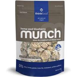 Thinkfood Munch Hemp Seed Blueberry (140g)