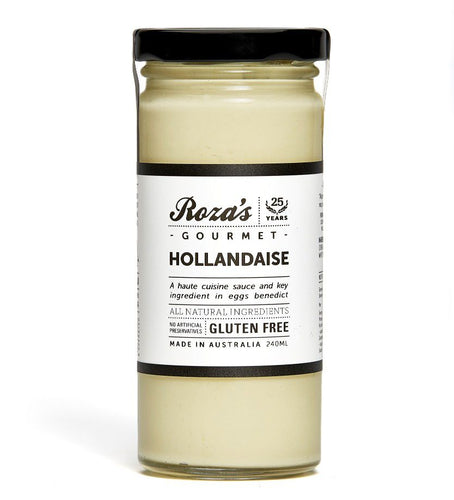 Roza's Gourmet Hollandaise (240ml) - VIC Delivery Only