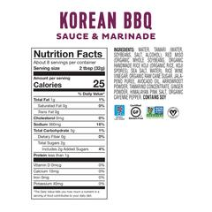 Fody Foods Low FODMAP Korean BBQ Sauce & Marinade (255g)