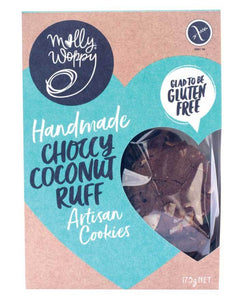 Molly Woppy Artisan Cookies Choccy Coconut Ruff (175g)