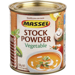 Massel Stock Powder Salt Reduced Vegetable Flavour (168g)