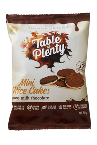 Table of Plenty Milk Chocolate Mini Rice Cakes (60g)