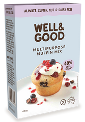 Well & Good Multi Purpose Muffin Mix (400g)