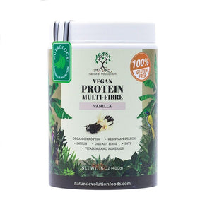 Natural Evolution Vegan Protein Multi-Fibre Vanilla (400g)