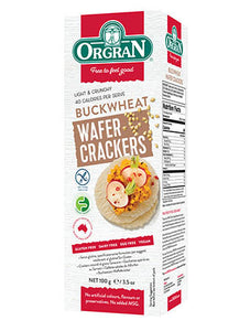 Orgran Multigrain Wafer Crackers with Buckwheat (100g)