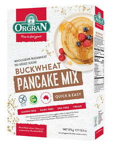 Orgran Buckwheat Pancake Mix (375g)