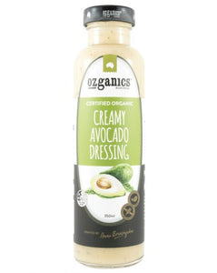Ozganics Creamy Avocado Dressing (350ml)