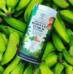 Natural Evolution Green Banana Resistant Starch From Green Lady Finger Bananas (400g)