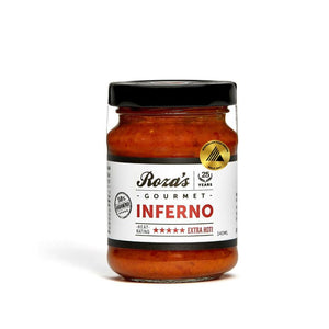 Roza's Gourmet Inferno (140ml) - REQUIRES REFRIGERATION