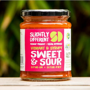 Slightly Different Foods Vibrant & Syrupy Sweet & Sour Sauce (260g)