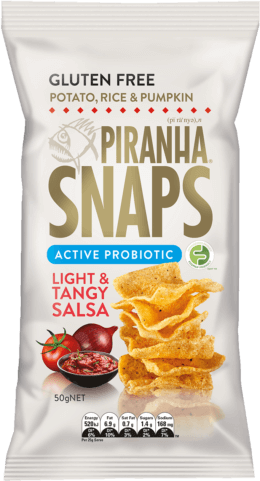 Piranha SNAPS Active Probiotic Light & Tangy Salsa (50g)