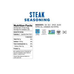 Fody Foods Low FODMAP Steak Seasoning (110g)