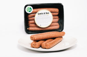 Lewis & Son Natural Aussie Snag (450g) -  VIC & NSW Delivery Only