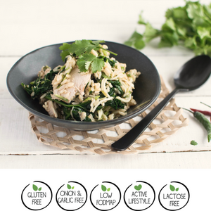 We Feed You Lemon & Ginger Chicken with Kale, Zucchini & Brown Rice