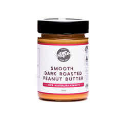 Alfie's Food Co. Smooth Dark Roasted Peanut Butter (300g)