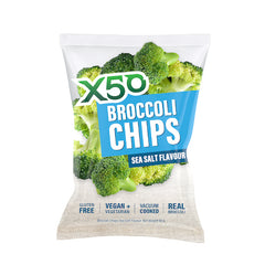 X50 Broccoli Chips Sea Salt (60g)
