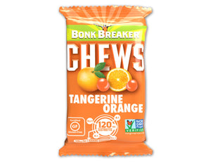 Bonk Breaker Tangerine Orange Energy Chews with Caffeine (50g)