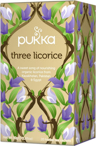 Pukka Three Licorice (40g, 20 Sachets)