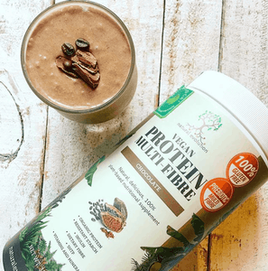 Natural Evolution Vegan Protein Multi-Fibre Chocolate (400g)
