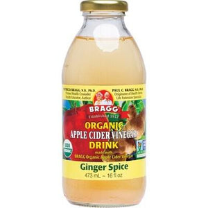 Bragg Apple Cider Vinegar Drink ACV With Ginger Spice (473ml)
