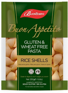 Buontempo Gluten & Wheat Free Rice Shells (250g)