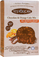 Yes You Can Chocolate & Orange Zest Cake Mix with Choc-Orange Icing (450g)