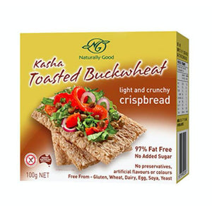 Naturally Good Kasha Buckwheat Crispbread