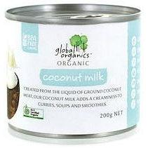 Global Organics Organic Coconut Milk (200g)