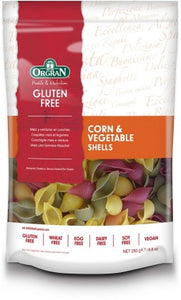 Orgran Corn & Vegetable Shells (250g)