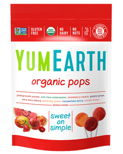 Yum Earth Organic Lollipops - Assorted Fruit (85g, 14 Pack)