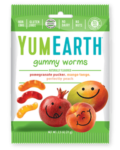 Yum Earth Gummy Worms (71g)