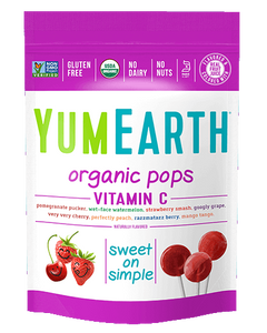 Yum Earth Organic Lollipops - Vitamin C (85g, 14 Pack)