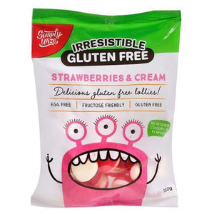Irresistible Lollies Strawberries & Cream Mix (160g)
