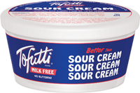 Tofutti Better Than Sour Cream, Plain (340g) - VIC Delivery Only